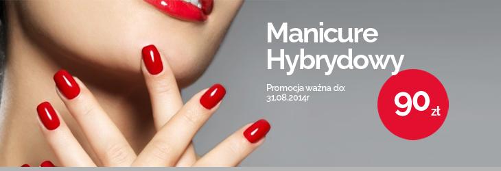 Manicure Hybrydow - 90zł